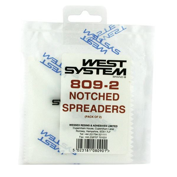 West System Notched Spreaders