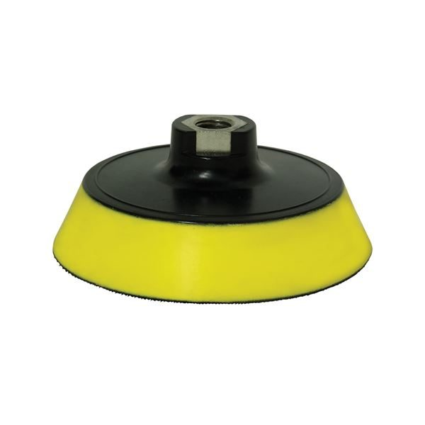 "Farecla G Mop Back Plate with Yellow Interface for 6"" Pads"