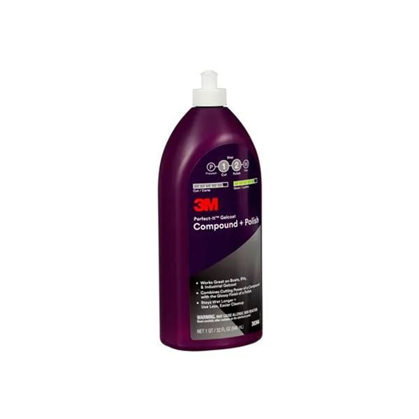 3M PERFECT-IT GELCOAT COMPOUND & POLISH 946ML